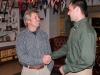 Kris Ramsay, OCT Admin. with Dr. Greg Skomal