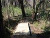 Walking boardwalk constructed on trail of Tovrov gift