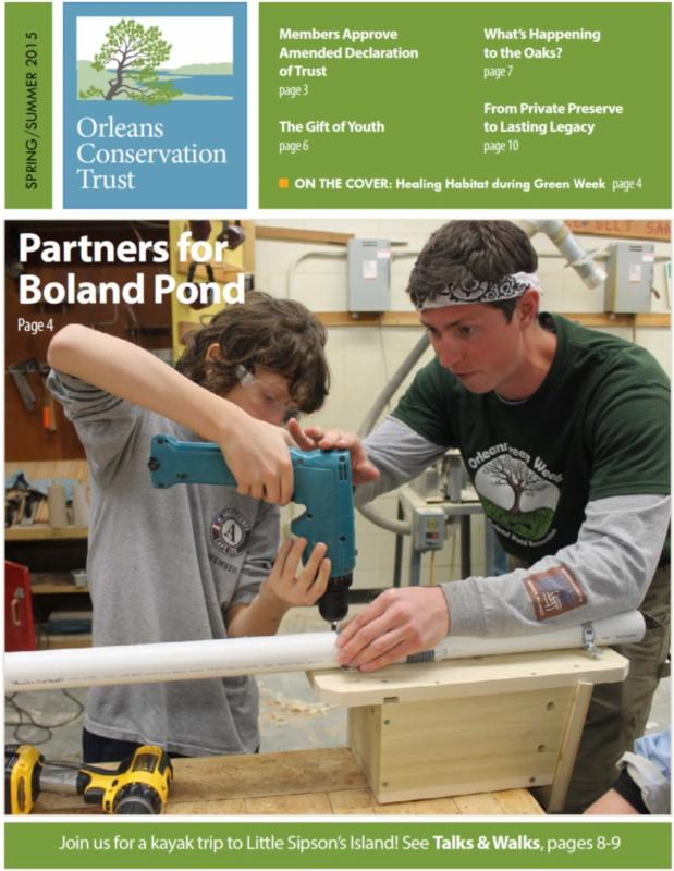 Spring 2015 Newsletter Cover